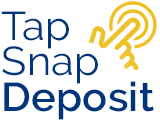 Tap, Snap and Deposit