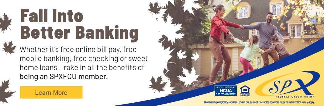 Fall Into Better Banking